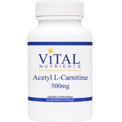 Vital Nutrients Acetyl L Carnitine 500 mg 60 vcaps VNALC
