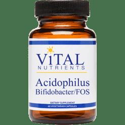 Vital Nutrients Acidophilus Bifidobacter FOS 60 vcaps ACID2