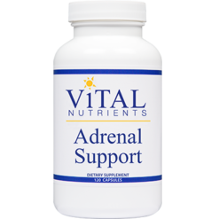 Vital Nutrients Adrenal Support 120 caps ADR40