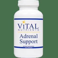 Vital Nutrients Adrenal Support 120 caps ADR40