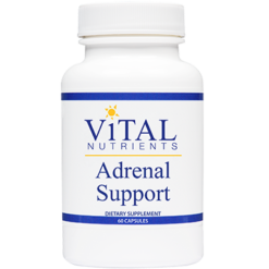 Vital Nutrients Adrenal Support 60 caps ADR20