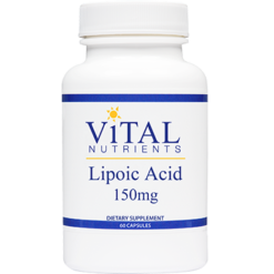 Vital Nutrients Alpha Lipoic Acid 150 mg 60 caps ALPH5