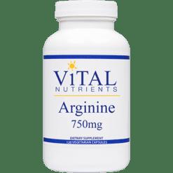 Vital Nutrients Arginine 750 mg 120 vcaps ARG22