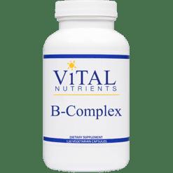 Vital Nutrients B Complex 120 caps BCO21