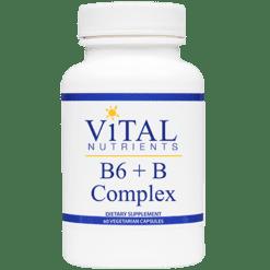Vital Nutrients B6 B Complex 60 CAPSULES BCO18