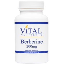 Vital Nutrients Berberine 200 mg 60 vegcaps BERB3