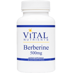 Vital Nutrients Berberine 500 mg 60 caps V83110
