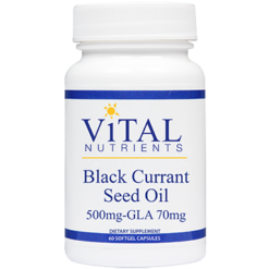 Vital Nutrients Black Currant Seed Oil 100 gels BLA42