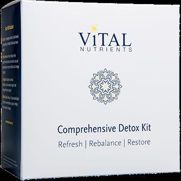 Vital Nutrients Comprehensive Detox Kit 1 kit VN8511