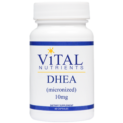 Vital Nutrients DHEA 10 mg 60 caps DHE19