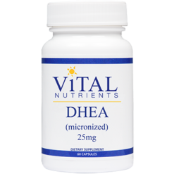 Vital Nutrients DHEA 25 mg 60 caps DHE20