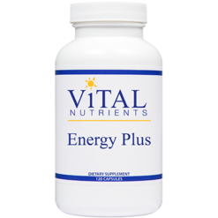Vital Nutrients Energy Plus 120 caps ENE12