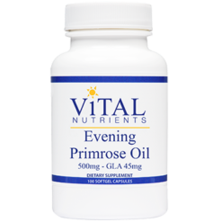 Vital Nutrients Evening Primrose Oil 500 mg 100 gels EPO97