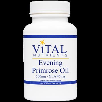 Vital Nutrients Evening Primrose Oil 500 mg 100 gels EPO97