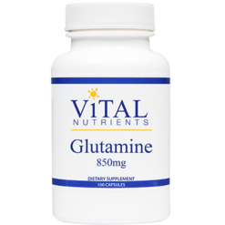 Vital Nutrients Glutamine 850 mg 100 caps GLU38