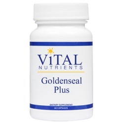 Vital Nutrients Goldenseal Plus 60 caps GOLPL