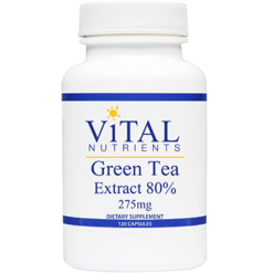 Vital Nutrients Green Tea Extract 275 mg 120 caps GRE31