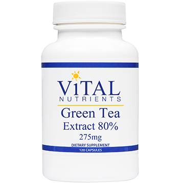 Vital Nutrients Green Tea Extract 275 mg 120 caps GRE31