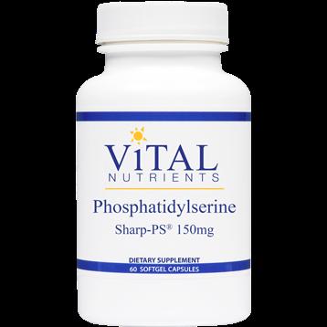 Vital Nutrients Phosphatidylserine Sharp 150mg 60 gels V86115