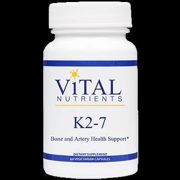 Vital Nutrients Vitamin K2 7 60 vegcaps V48110