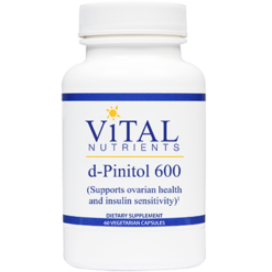 Vital Nutrients d Pinitol 600 mg 60 caps DPINI