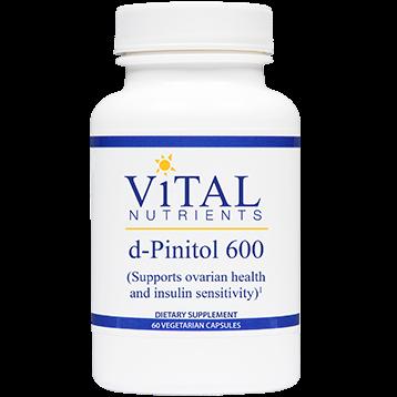 Vital Nutrients d Pinitol 600 mg 60 caps DPINI