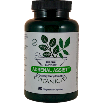 Vitanica Adrenal Assist 90 vegetarian capsules ADR41