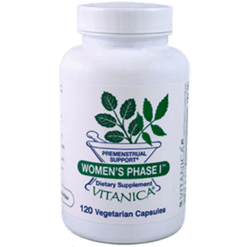 Vitanica Womens Phase I 120 capsules WOM26