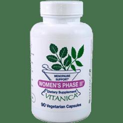 Vitanica Womens Phase II Retail 90 vegetarian capsules WOM27