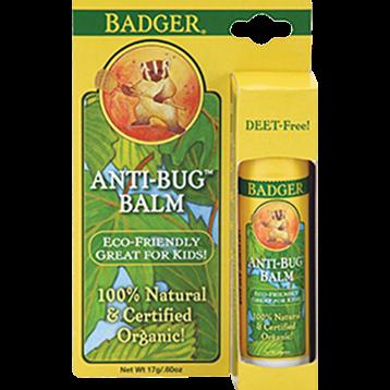 W.S. Badger Company Anti Bug Balm Travel Stick 0.60 oz B95054