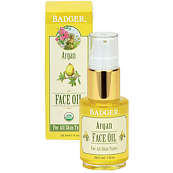 W.S. Badger Company Argan Face Oil 1 fl oz B70051