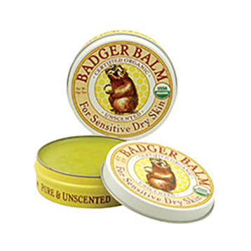 W.S. Badger Company Badger Balm Unscented 2 oz B30335