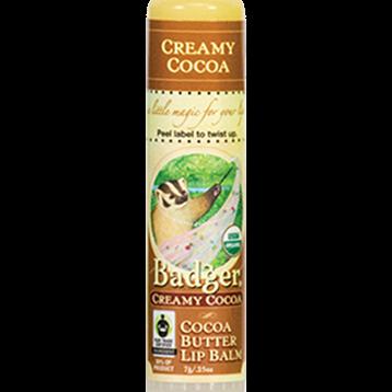 W.S. Badger Company Creamy Cocoa Butter Lip Balm .25oz B25009
