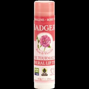 W.S. Badger Company Rose Tourmaline Min Lip Tint .15 oz B28048