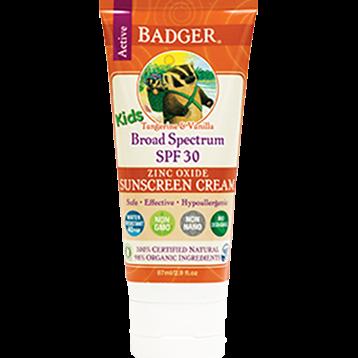 W.S. Badger Company Zinc Oxide Kids Sunscreen SPF 30 2.9 fl oz B78013