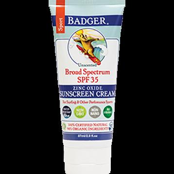 W.S. Badger Company Zinc Oxide Sport Sunscreen SPF 35 2.9 fl oz B76002