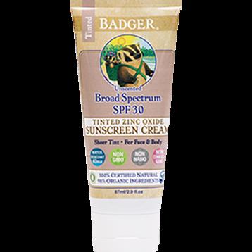 W.S. Badger Company Zinc Oxide Sunscreen Tint SPF 30 2.9 fl oz B74053