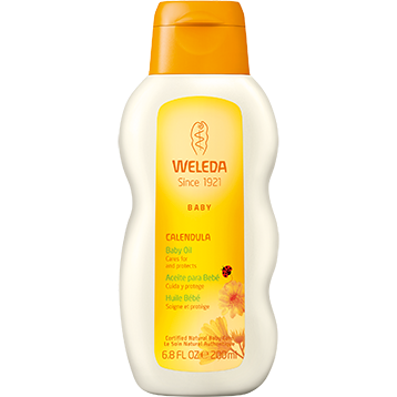 Weleda Body Care Calendula Baby Oil 6.8 fl oz W96553