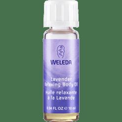 Weleda Body Care Lavender Body Oil Travel 0.34 fl oz LAV22