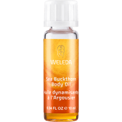 Weleda Body Care Sea Buckthorn Body Oil Travel 0.34 fl oz SEAB2