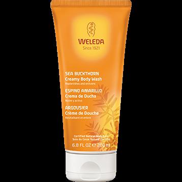 Weleda Body Care Sea Buckthorn Creamy Body Wash 6.8 fl oz SEAB4