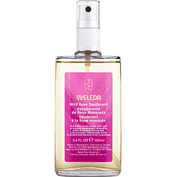 Weleda Body Care Wild Rose Deodorant 3.4 oz WIL54