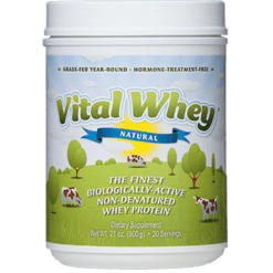 Well Wisdom Vital Whey Natural 21 oz W01745