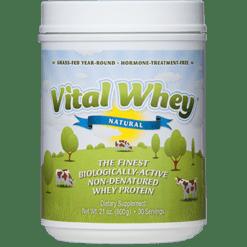 Well Wisdom Vital Whey Natural 21 oz W01745