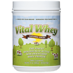 Well Wisdom Vital Whey Natural Cocoa 21 oz VITAC