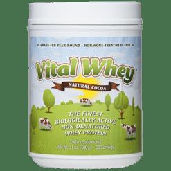 Well Wisdom Vital Whey Natural Cocoa 21 oz VITAC
