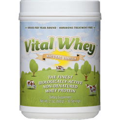 Well Wisdom Vital Whey Natural Vanilla 21 oz VITAV