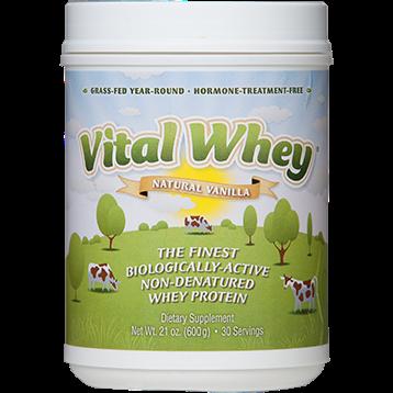 Well Wisdom Vital Whey Natural Vanilla 21 oz VITAV