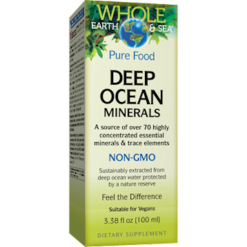 Whole Earth and Sea Deep Ocean Minerals 3.38 fl oz W55146