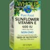 Whole Earth and Sea Sunflower Vitamin E 400IU 90 softgels W55139
